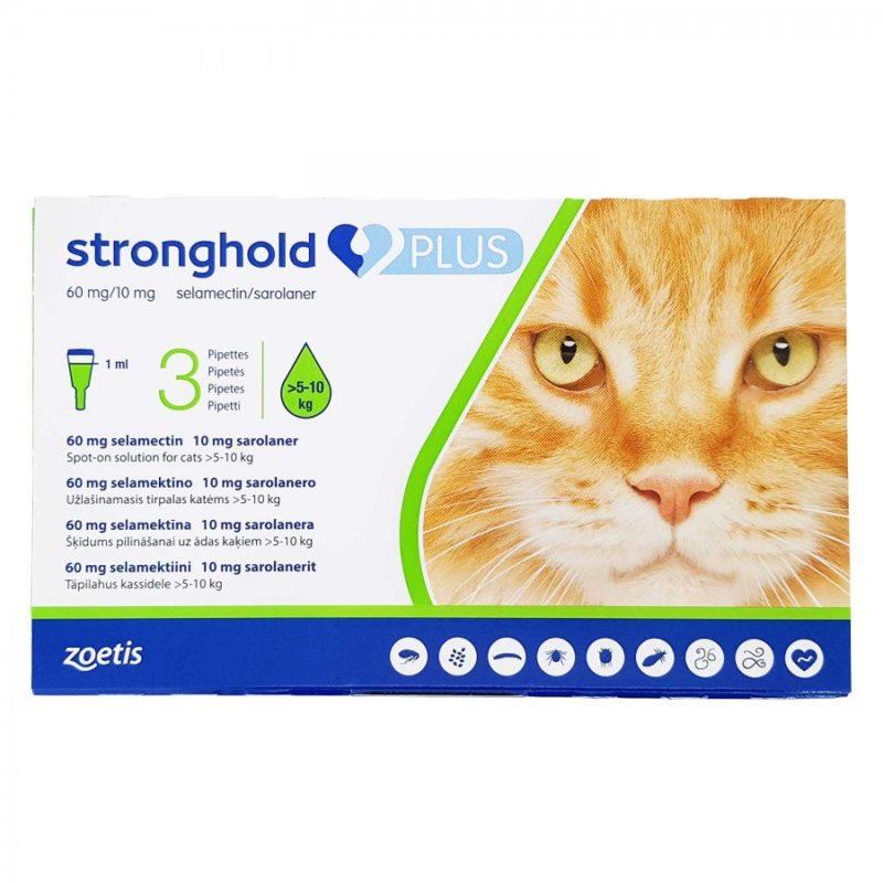 ストロングホールドプラス猫用(5~10kg未満)