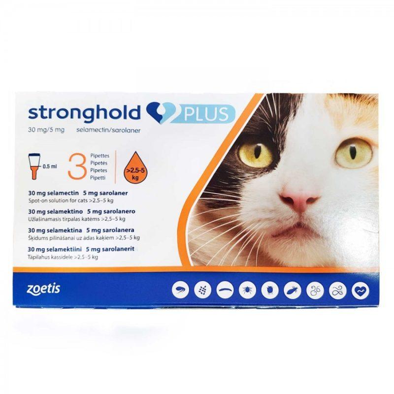 ストロングホールドプラス猫用(2.5~5kg未満)