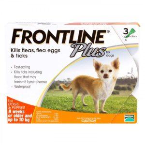 フロントラインプラス小型犬用