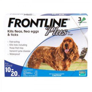 フロントラインプラス中型犬用
