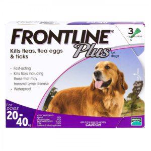 フロントラインプラス大型犬用