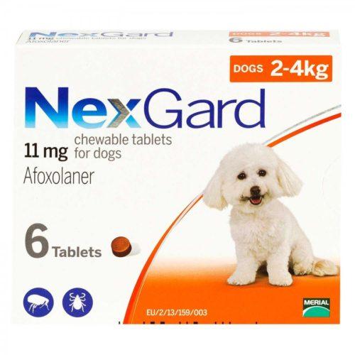 ネクスガード小型犬用 11mg