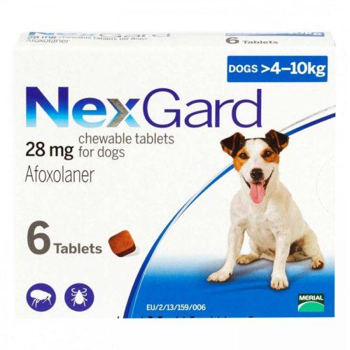 ネクスガード中型犬用 28mg