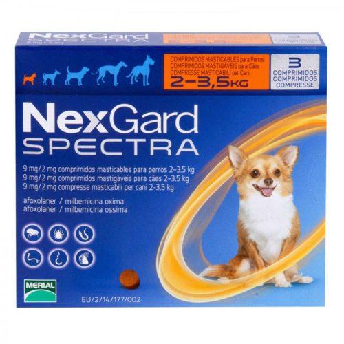 ネクスガードスペクトラ超小型犬用