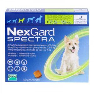 ネクスガードスペクトラ中型犬用