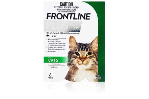 フロントラインプラス猫用