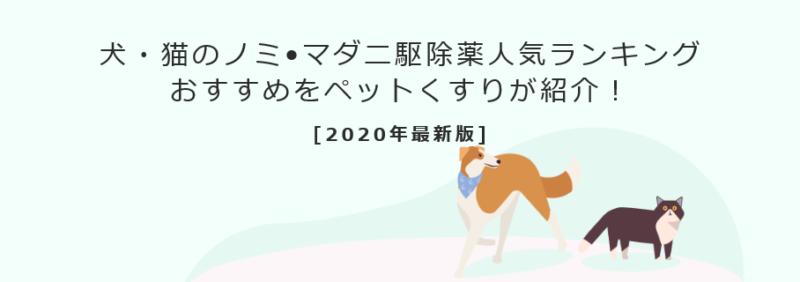 ノミ•マダニ駆除薬売上人気ランキング
